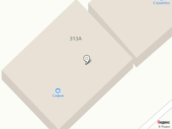 София на карте Новой Усмани