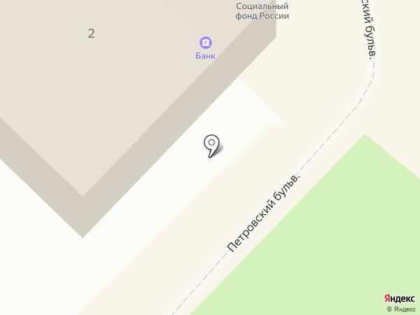 Таможенный пост на карте Азова
