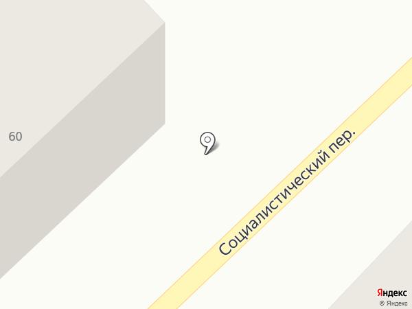Киоск по продаже хлебобулочных изделий на карте Азова