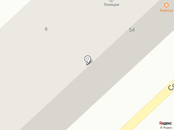Участковый пункт полиции №4 на карте Азова