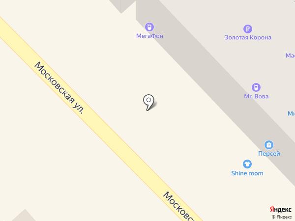 Мелисса на карте Азова