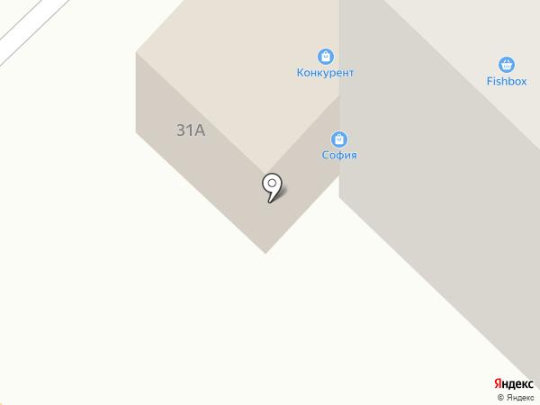 София на карте Азова