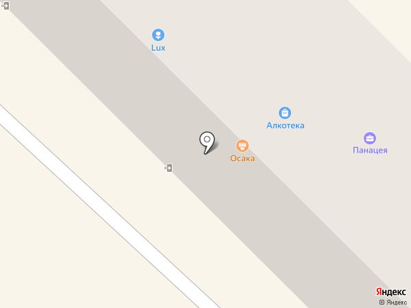 Осака на карте Азова