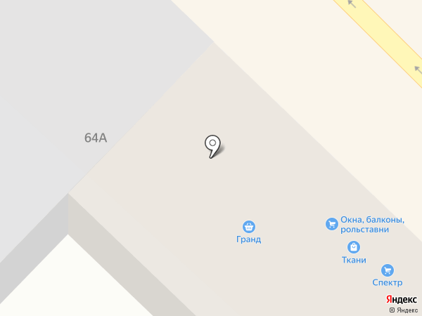 Гранд на карте Азова