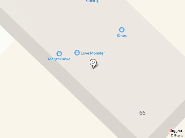 Юнис швейные машины на карте Азова