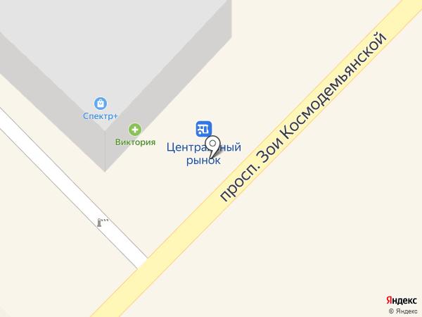 Сладкая лавка на карте Азова