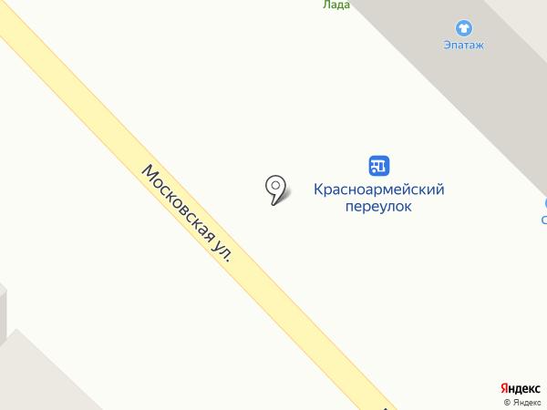 Профидент на карте Азова