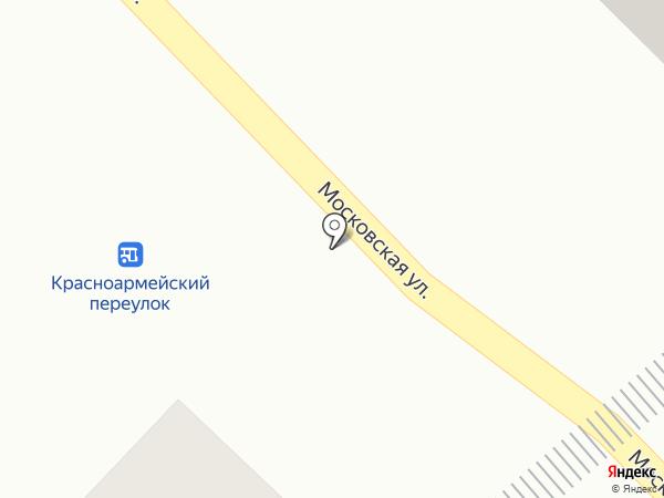 Южный дом на карте Азова