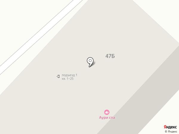 Медея на карте Азова