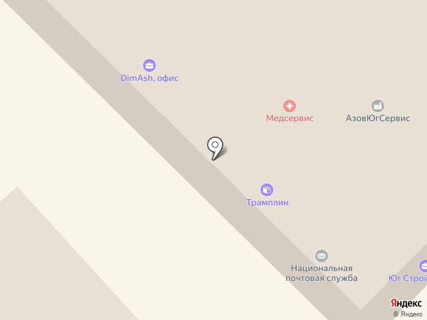 Меркурий на карте Азова
