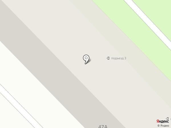 Глобус на карте Азова
