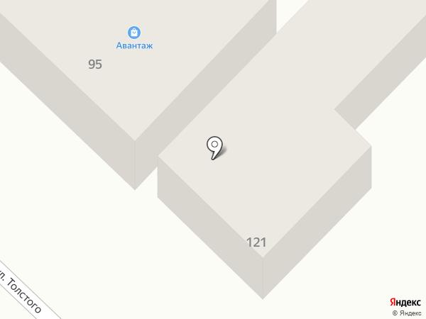 Авантаж на карте Азова