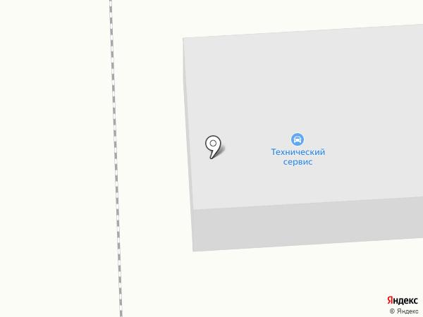 Технический сервис на карте Азова