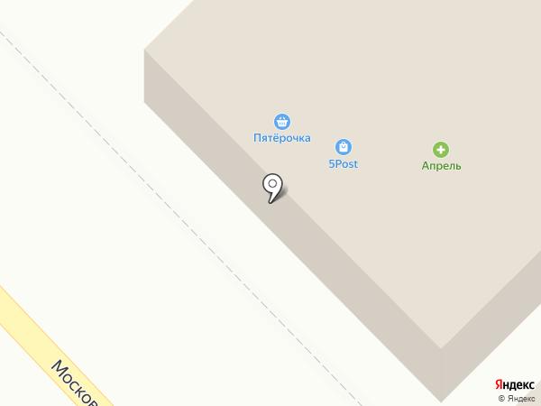 Апрель на карте Азова