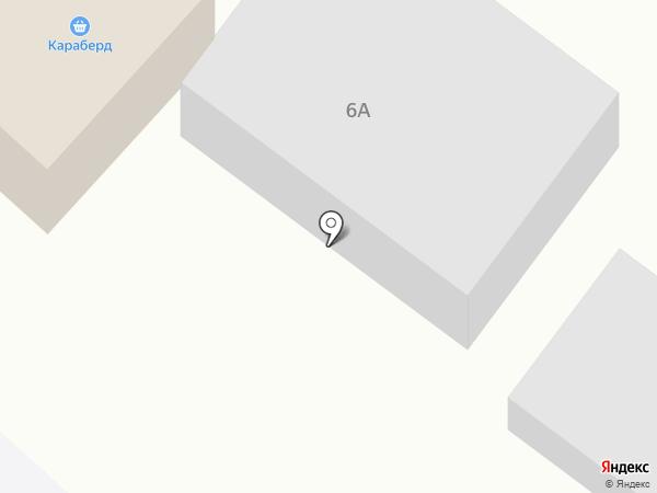 Караберд на карте Азова