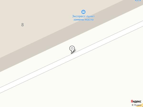 Лев на карте Азова