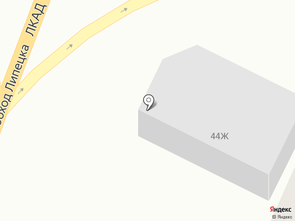 Шашлычная на карте Липецка