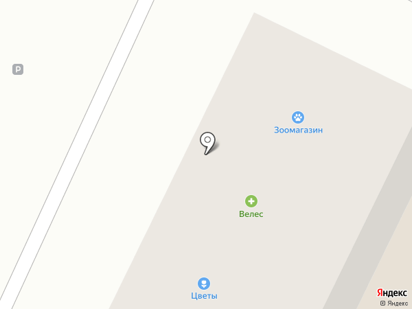 Цветочный магазин на карте Липецка