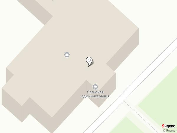 Участковый пункт полиции на карте Кузьминских Отвержек