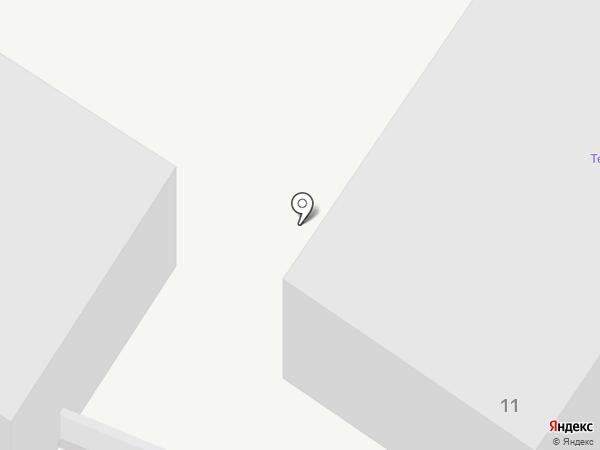 Нева на карте Липецка
