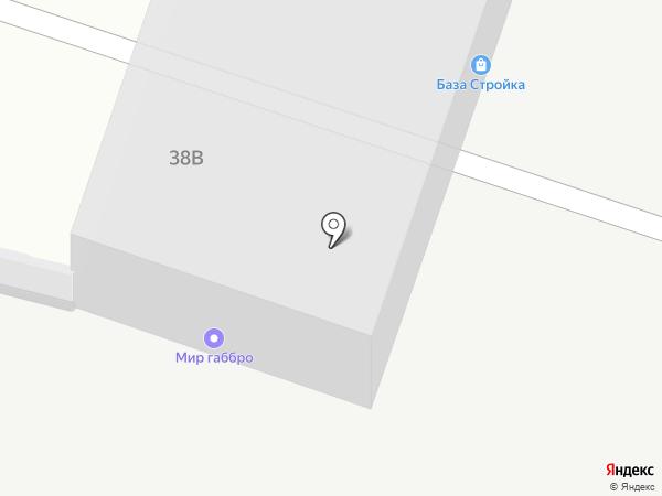 Завод Промсталь на карте Липецка