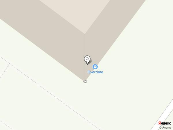Overtime на карте Липецка