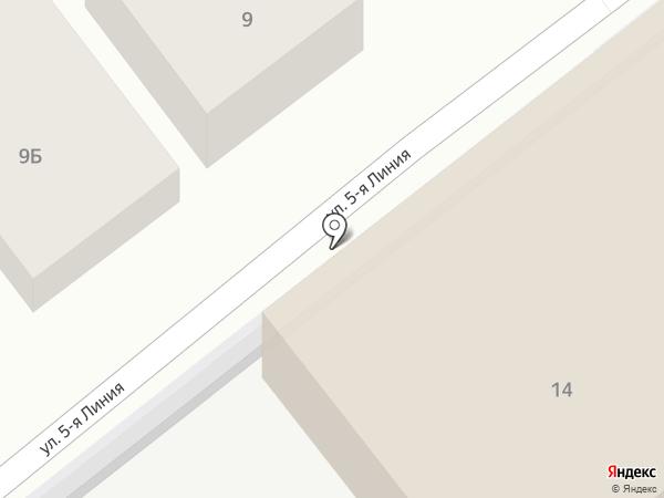 Мясниковрайгаз на карте Чалтыря