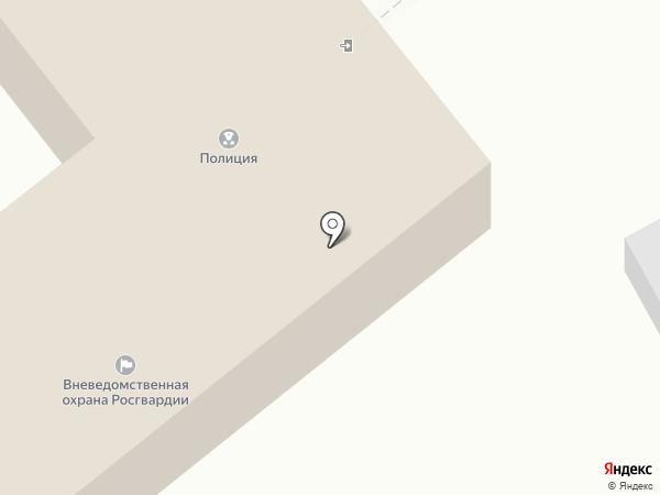 Отдел вневедомственной охраны по Мясниковскому району на карте Чалтыря