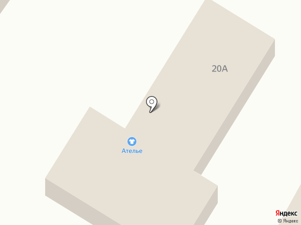 Дом строителя на карте Рыбного