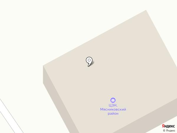 Центр занятости населения Мясниковского района на карте Чалтыря