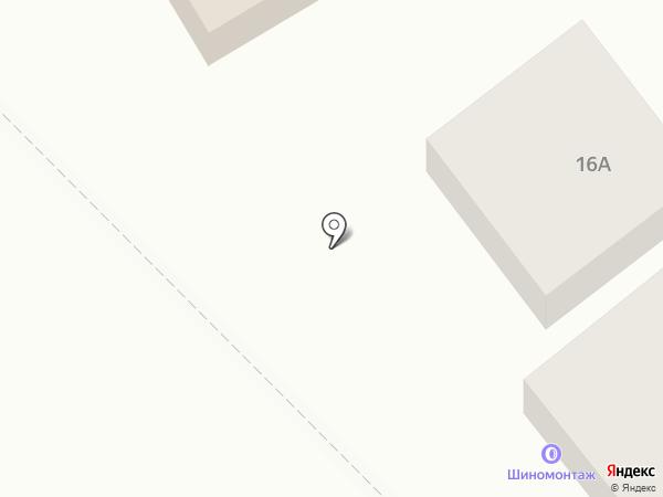 Шиномонтажная мастерская на карте Чалтыря