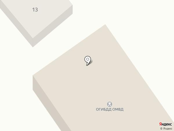 Отделение ГИБДД Отдела МВД России по Мясниковскому району на карте Чалтыря