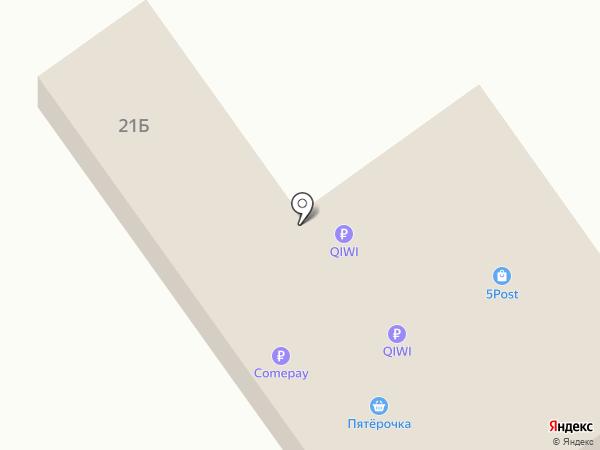Пятерочка на карте Чалтыря
