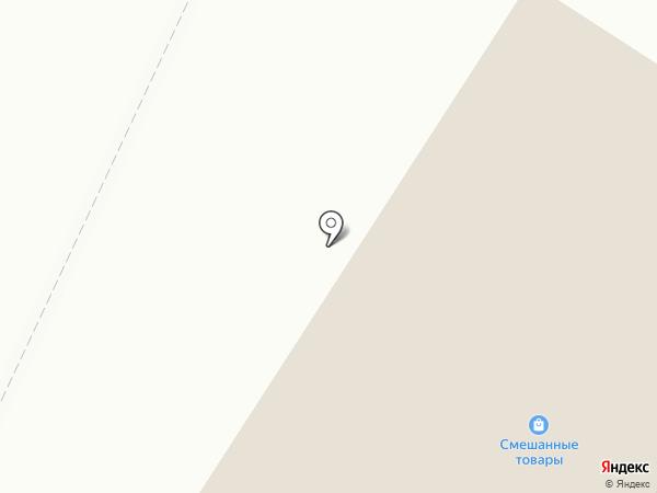 Газовик на карте Рыбного