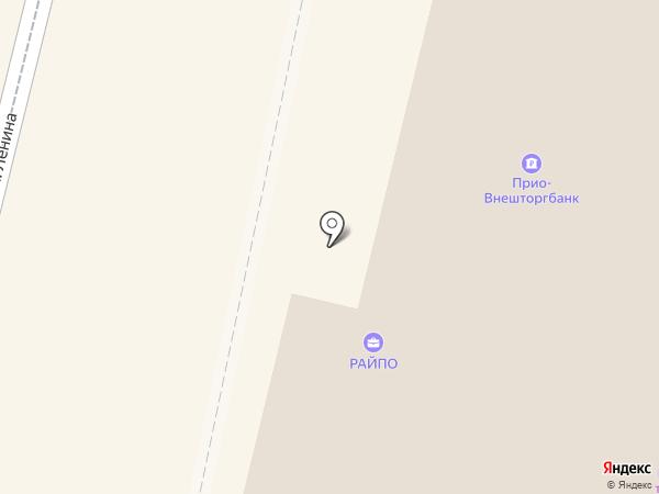 Прио-Внешторгбанк, ПАО на карте Рыбного