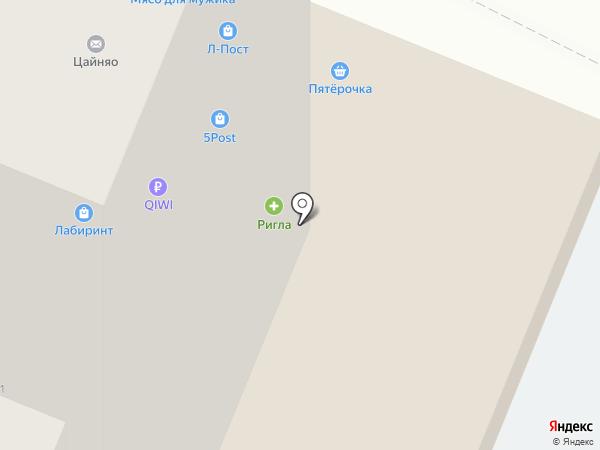 Сетьстрой на карте Липецка