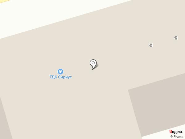 Магазин электрики и сантехники на карте Липецка