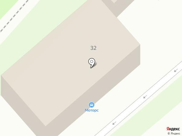 Магазин авточехлов на карте Липецка