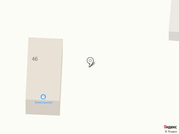 Хмельной на карте Городища
