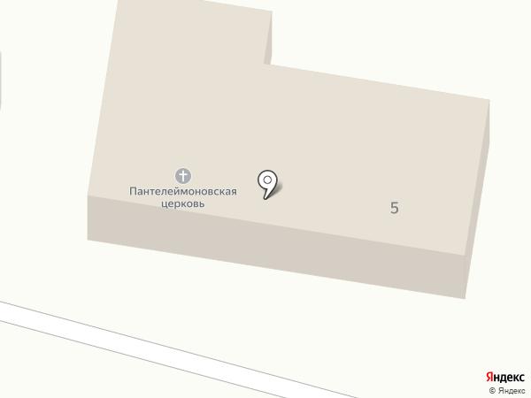 Храм Пантелеимона Целителя на карте Калинина