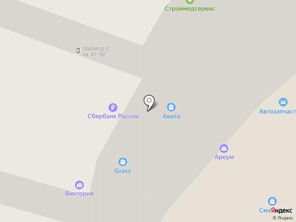 Лас-Вегас на карте Липецка