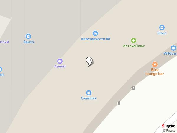 Idea на карте Липецка