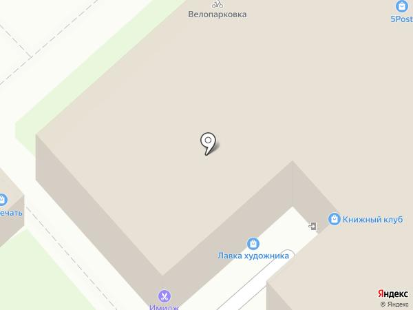 Пивень на карте Липецка