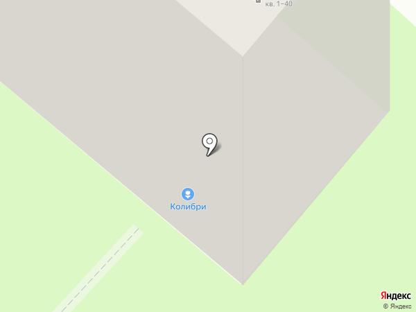 Колибри на карте Липецка