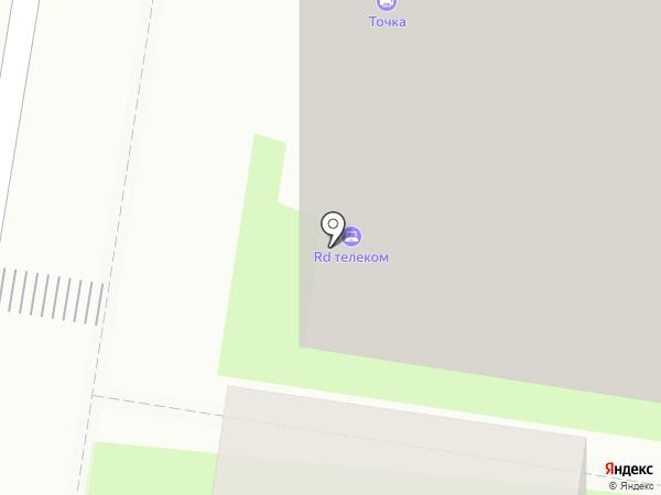 Радуга-телеком на карте Липецка