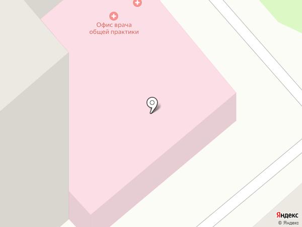 Салюс на карте Липецка