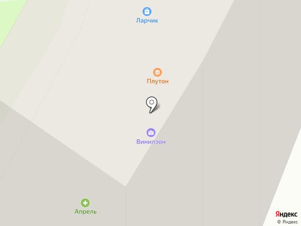 Тифани на карте Липецка