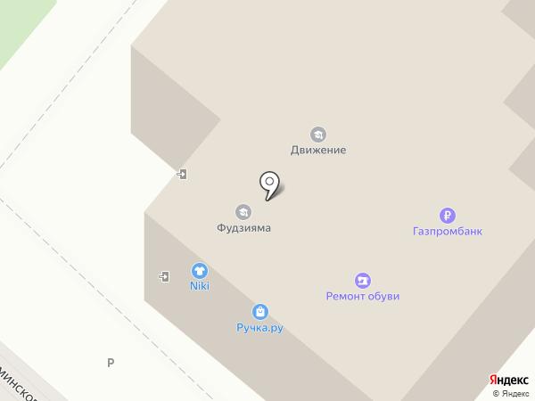 Есения на карте Липецка
