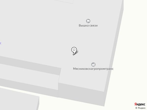 АБС БЕТОН на карте Чалтыря