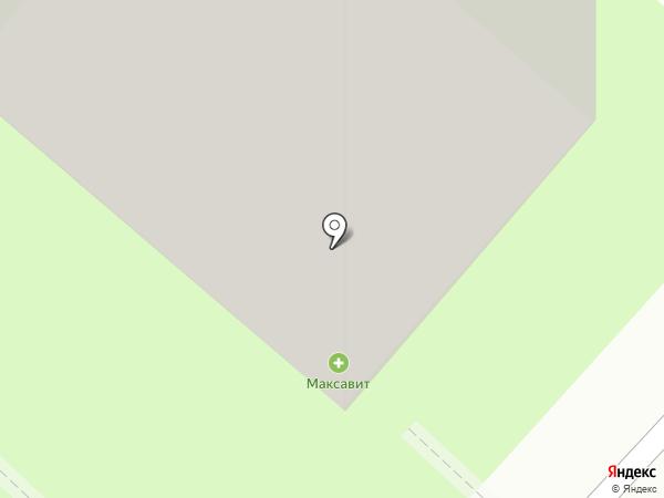 Колясочка на карте Липецка